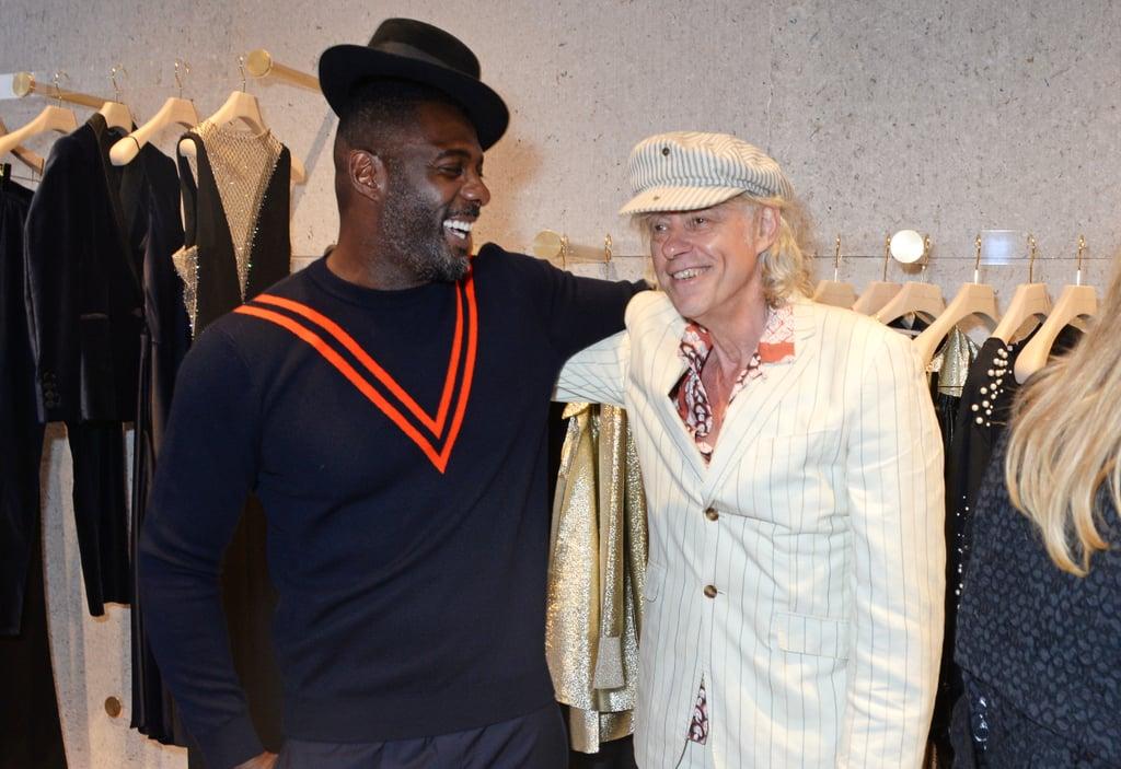 Idris Elba and Sir Bob Geldof