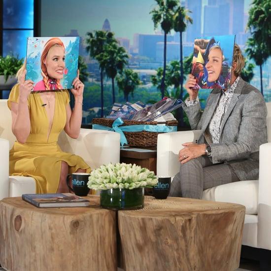 Kristen Bell on The Ellen DeGeneres Show September 2016