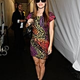 Rachel Bilson posed during Fashion Week in September 2009.