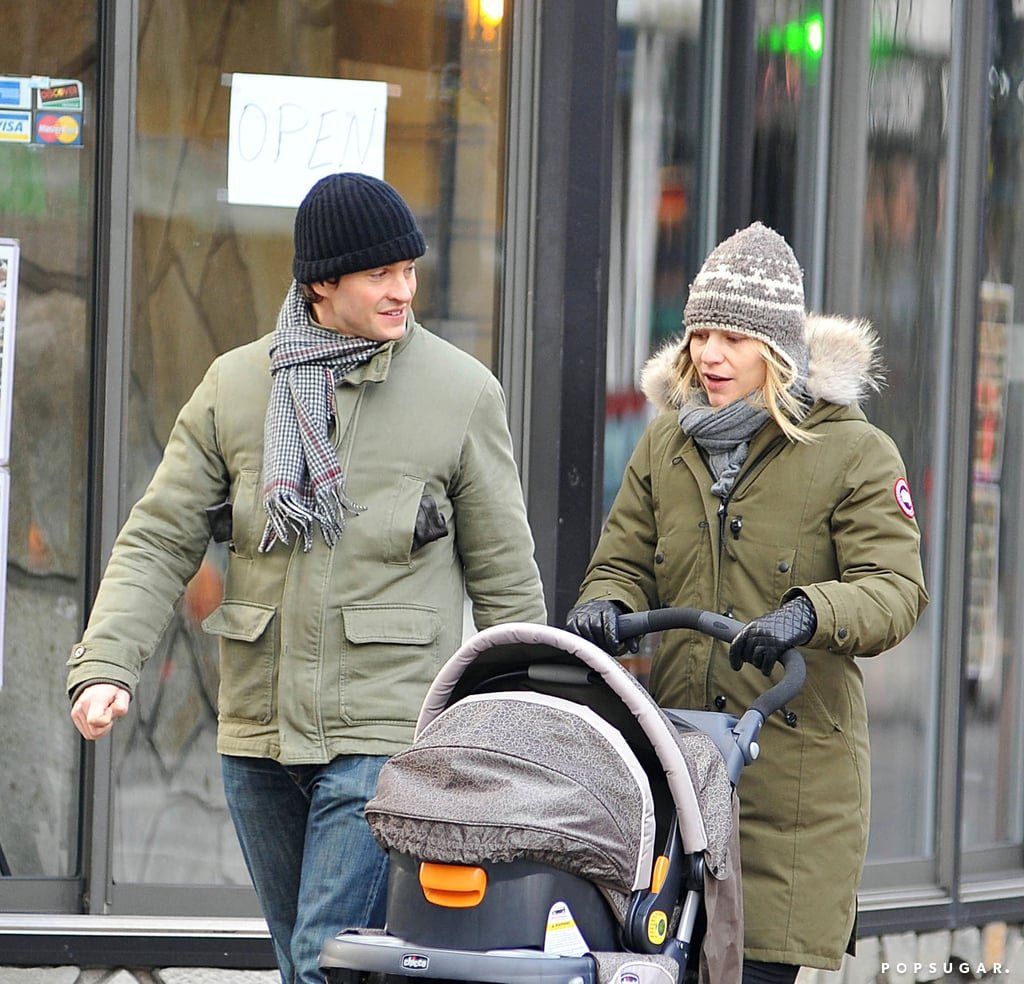 Claire Danes and Hugh Dancy became first-time parents in December 2012 when baby Cyrus was born.