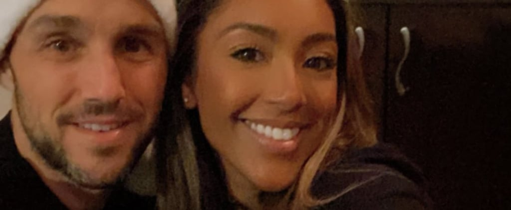 Tayshia Adams and Zac Clark Spend First Christmas Together