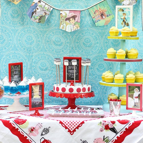 Mary Poppins Birthday Party Ideas Popsugar Family