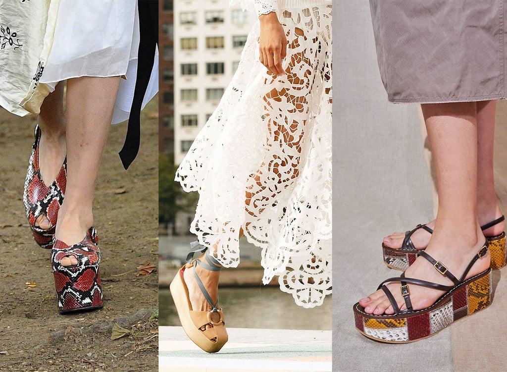 Spring/Summer 2021 Shoe Trend: Flatforms