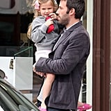 Jennifer and Violet Accessorize For Christmas With Hot Dad Ben