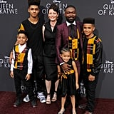 David Oyelowo and Family Wear Matching Outfits Sept. 2016 ...