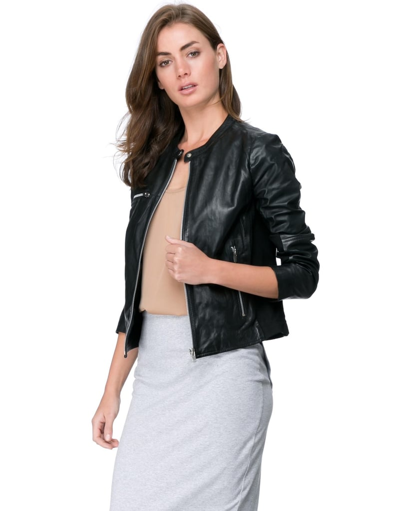 where to buy the best leather jacket 2015 popsugar