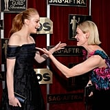 When Sophie Turner and Sarah Paulson Were So Happy to See Each Other