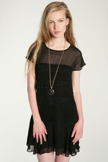 There's a very witchy feel to this chiffon dress (£45).