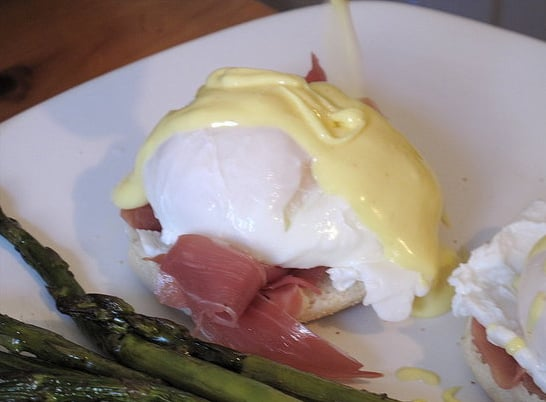 Put a poached egg on top.