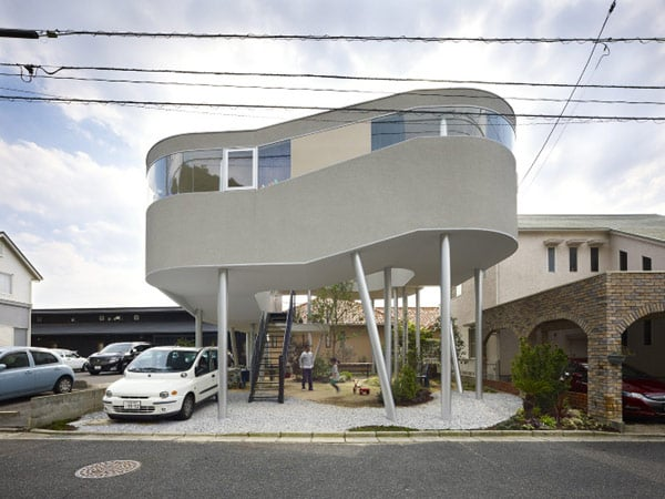 Jetsons House in Japan