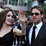 Brad Pitt and Angelina Are Back in Black to Much Fanfare at TIFF