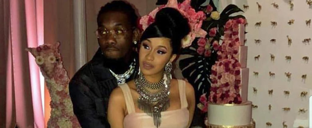 Cardi B Baby Shower Dress