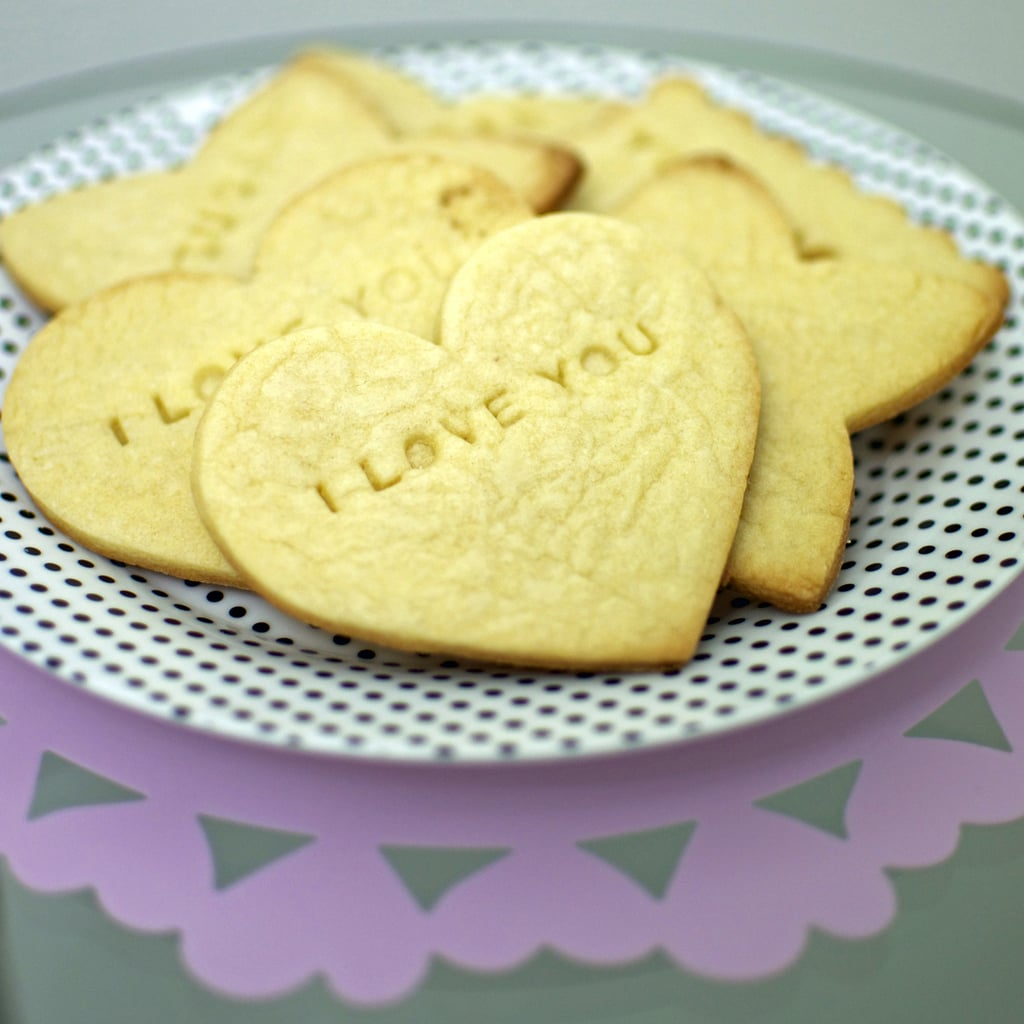 Conversation Heart Cookies (Message in a Cookie Recipe)