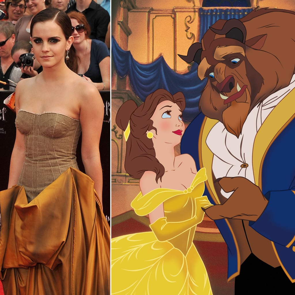 Emma will be learning how to be a princess on the big screen.