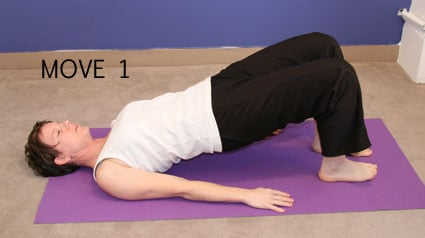 Let Pilates Move You: Bridge with a Kick