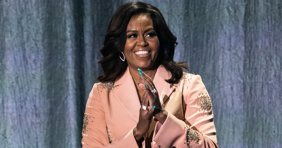 """Michelle Obama Talks Her At-Home Beauty Routine: """"I've Gotta Figure Out How to Do It"""""""
