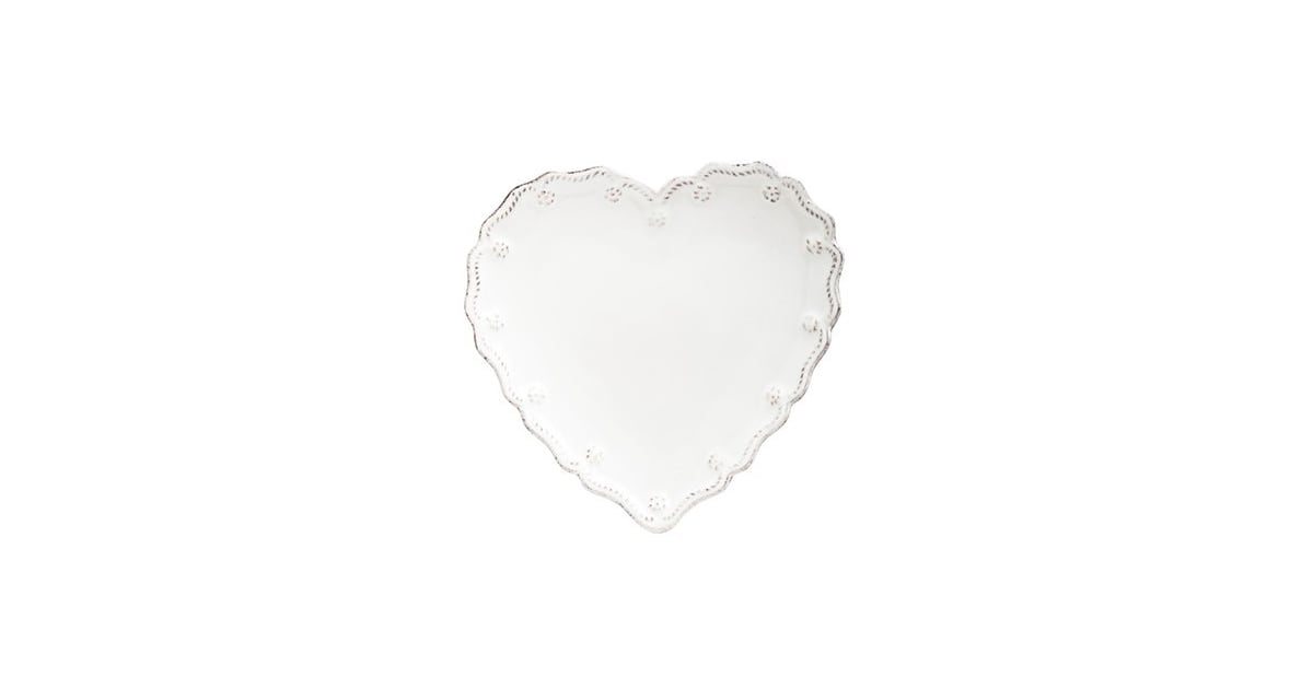 Juliska  Berry and Thread  Heart Shaped Cocktail Plates (Set of 4) | Heart- Shaped Kitchen Tools | POPSUGAR Food Photo 9  sc 1 st  Popsugar : heart shaped plates set of 4 - pezcame.com