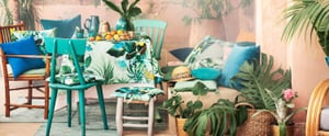 """H&M's New Summer Home Collection Screams """"I'm on Vacation Forever!"""""""