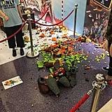 Child Destroys Zootopia Lego Statue