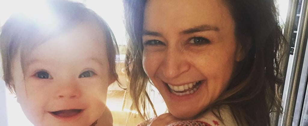 Caterina Scorsone's Down Syndrome Awareness Month Photo