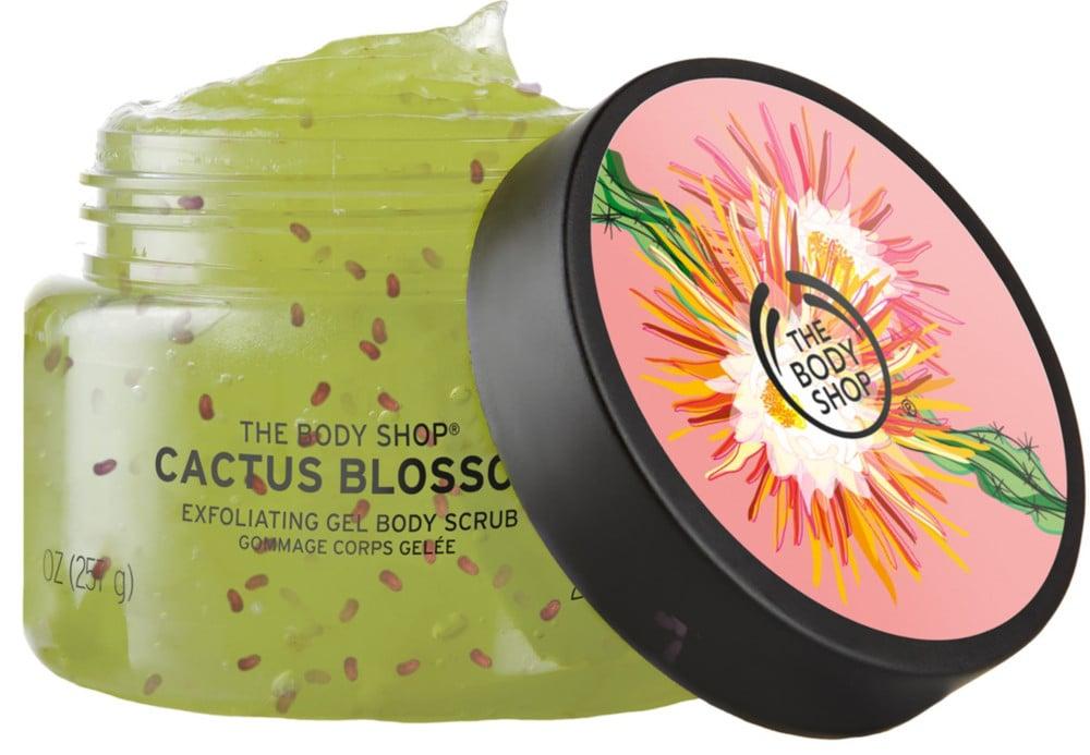 The Body Shop Cactus Blossom Exfoliating Gel Body Scrub