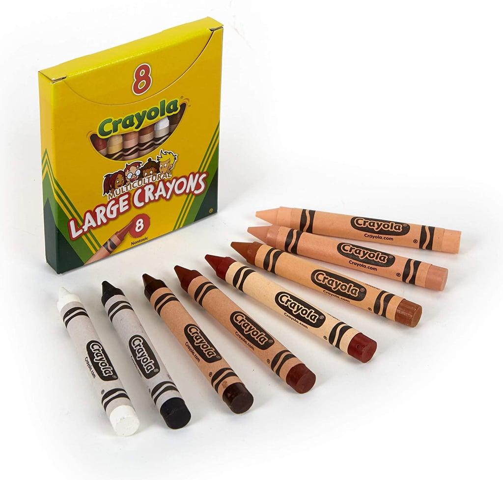 Crayola Large Multi-Cultural Crayons