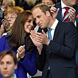 When Will and Kate Smirked During a Private Moment