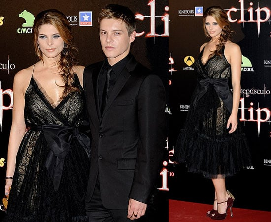 Pictures of Ashley Greene and Xavier Samuel at Eclipse Madrid Premiere
