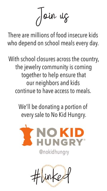 100+ Jewellery Brands and Counting Are Donating to No Kid Hungry