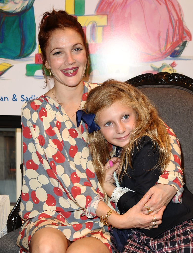 Drew Barrymore was on hand for last night's Pirates & Princesses book party at Brooks Brothers in Beverly Hills. She has a special connection to the author of the kids' title, Jill Kargman, who happens to be her boyfriend's sister! Drew Barrymore and Will Kopelman were first spotting sharing PDA back in February, and last night at the celebration, Drew looked like part of the family as she cozied up to his young niece for pictures. The evening out came ahead of what promises to be a big weekend for the actress. It was just announced that Drew will be a presenter at the Emmys this Sunday, along with Gwyneth Paltrow, Jimmy Fallon, Katie Holmes, and a host of other Hollywood stars. Be sure to check out PopSugar at 3 p.m. PDT on Emmys day to watch our live, red-carpet coverage!