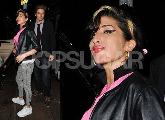 Photos of Amy Winehouse With Tyler James Before Hospitalisation