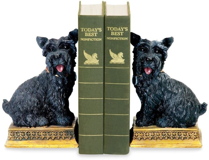 Bed Bath & Beyond Sterling Home Baron Scottie Dog Bookends ...