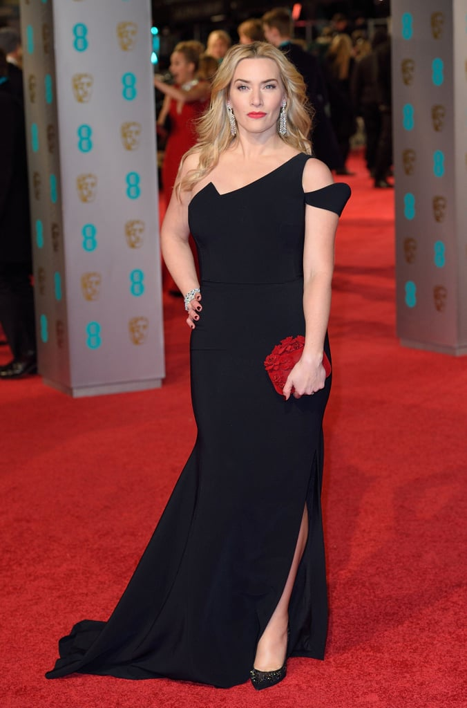 Women Wearing Black on the BAFTA Red Carpet