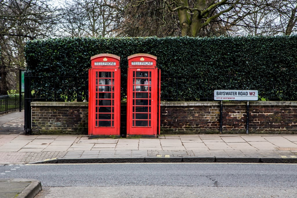 Make a Call From a London Phone Booth