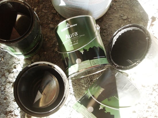 Casa Quickie: Recycling Paint Cans