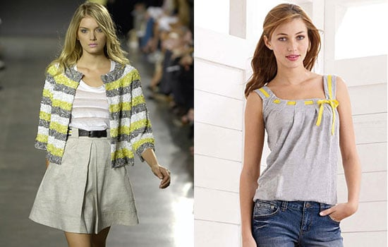 Trend Alert: Pale Yellow and Gray