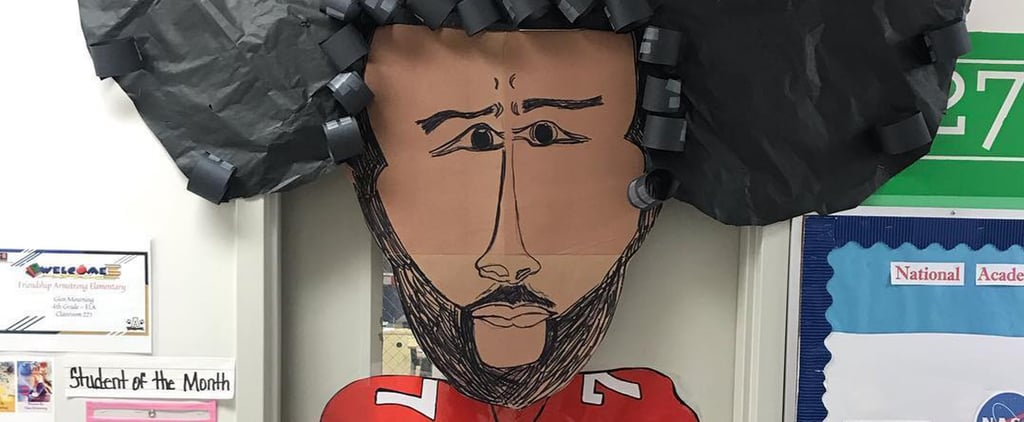 Teachers Decorate Doors For Black History Month