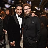 Pictured: James Franco and Seth Rogen
