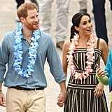 Meghan Markle Martin Grant Dress Australia October 2018