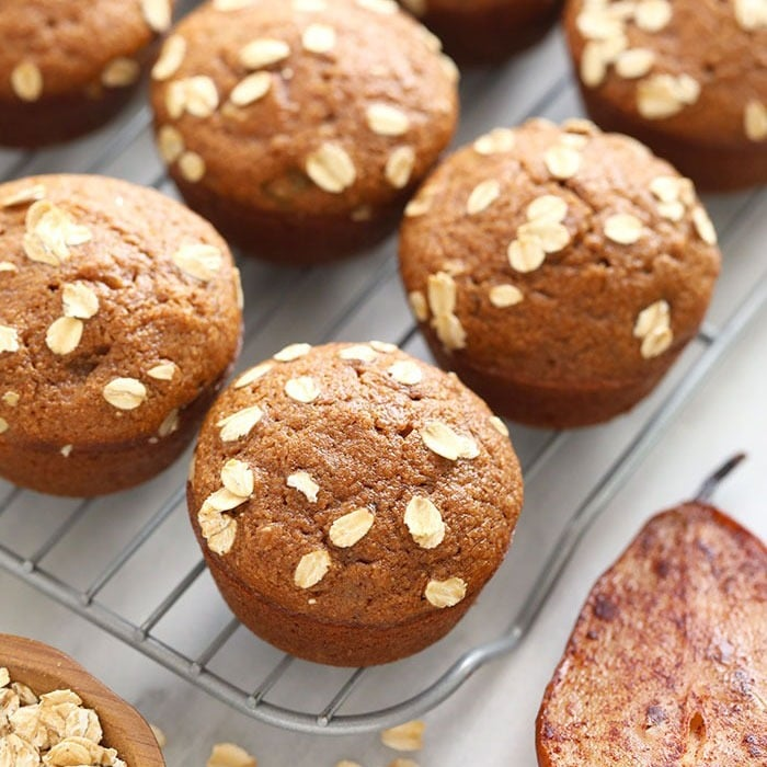 Cinnamon Pear Muffins