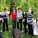 Prince Harry recognized the achievements of the school game athletes by hosting a reception at the Clarence House in London, England.