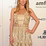 Nicky Hilton attended the 2012 amfAR gala in NYC.