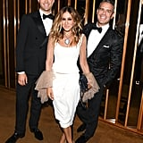 Pictured: Sarah Jessica Parker, Andy Cohen, and Andrew Rannells