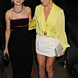 Naomi Watts hosted Bulgari's Oscars party, which brought out her pal Kate Hudson.