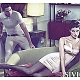 Isabeli Fontana shows her sexy side for Siviglia. Source: Fashion Gone Rogue