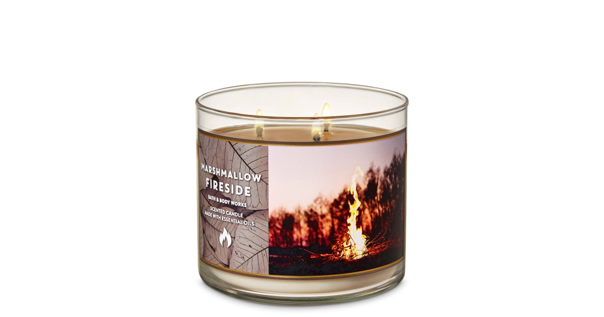 Bath And Body Works Marshmallow Fireside 3 Wick Candle