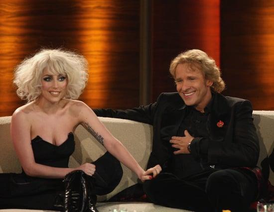 Lady Gaga attends the ''Wetten Dass...?'' show in Braunschweig in Germany