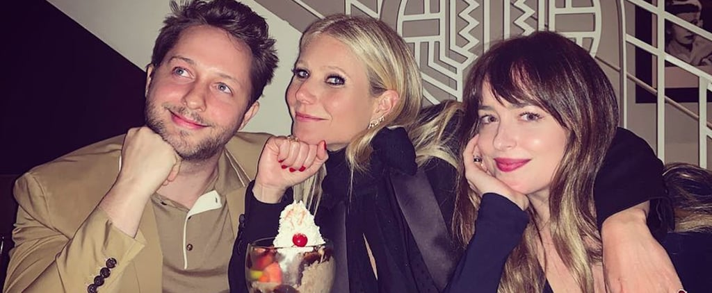 Gwyneth Paltrow and Dakota Johnson at Party April 2019