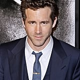 Ryan Reynolds rocked a suit.
