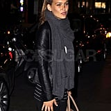 Bar Refaeli Goes For Supper Solo Following Her Met Ball Appearance